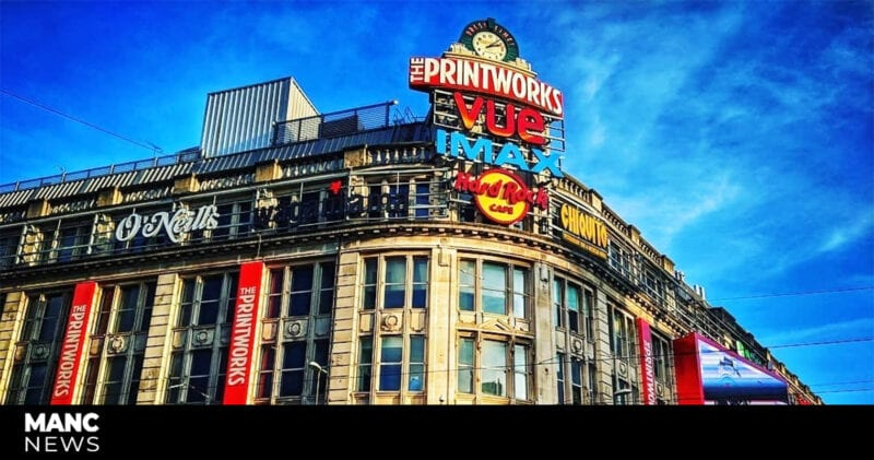 Printworks is serving free hot food and drinks to vulnerable people across the city today, The Manc