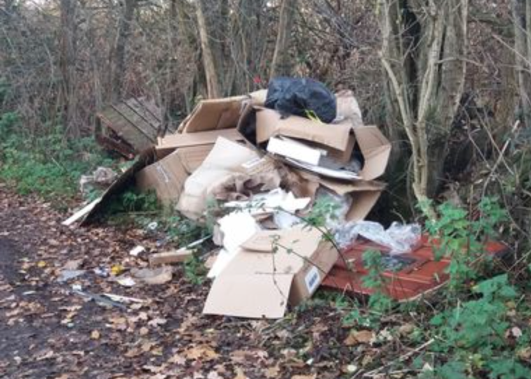 Northenden man who advertised illegal fly-tipping services for 'easy money' hit with £1,000+ fine, The Manc
