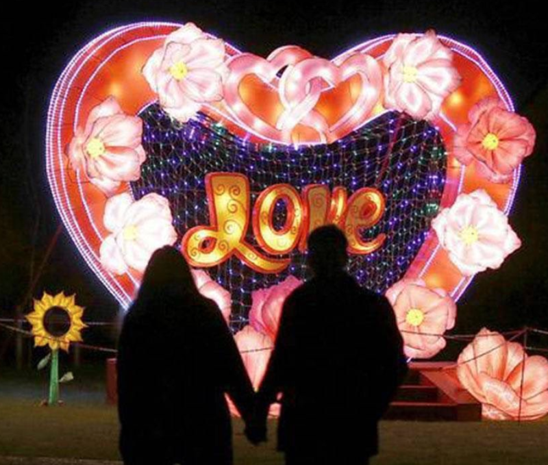 Lightopia has launched new 'date night' special tickets for couples this winter, The Manc