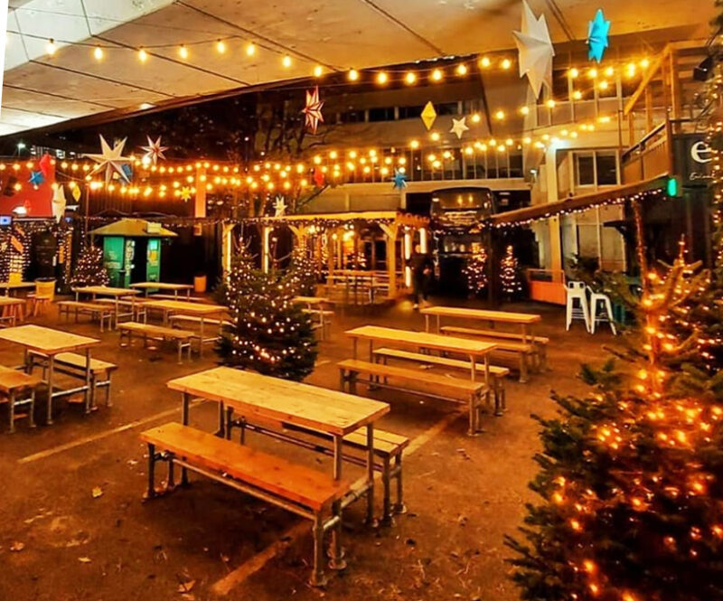 Hatch is now open for independent Christmas shopping, haircuts and takeaway, The Manc