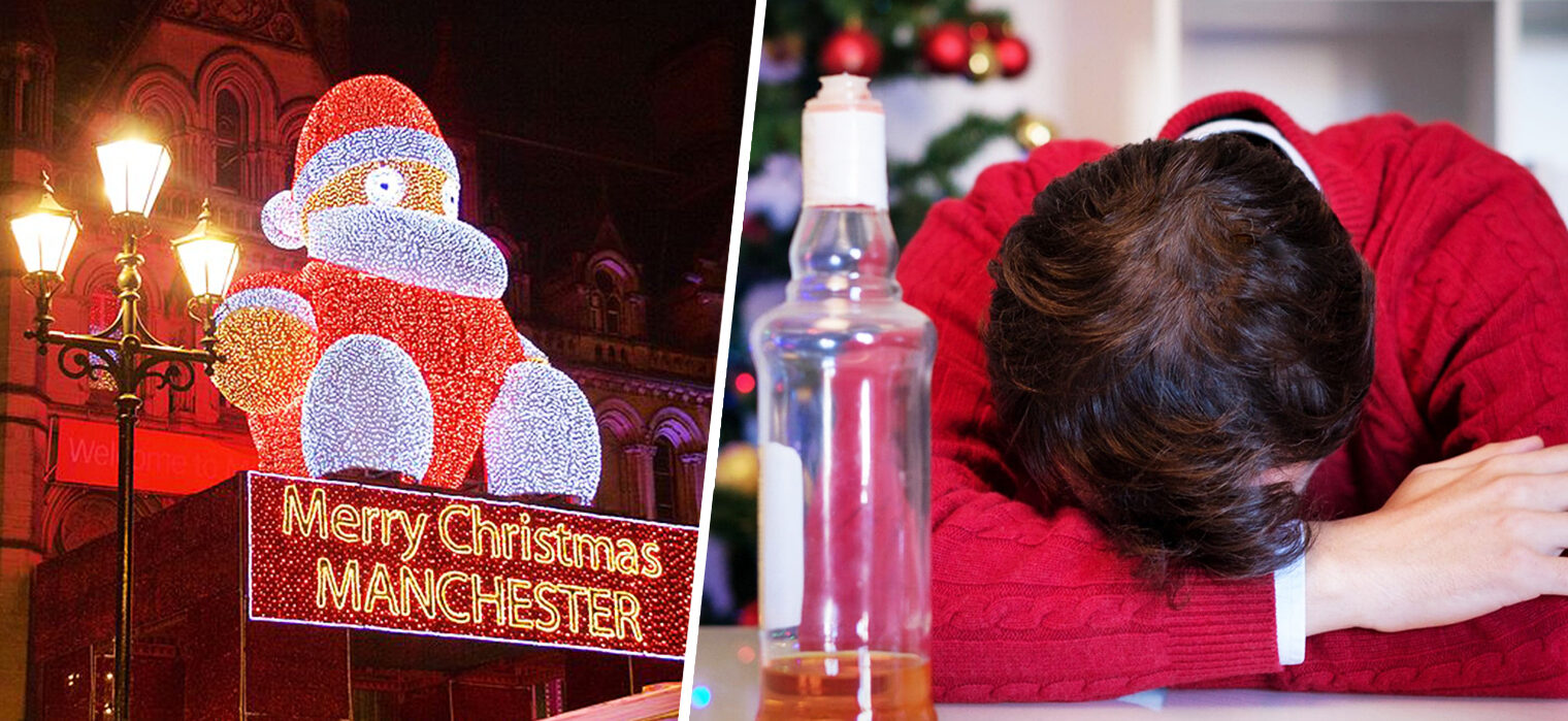 Manchester ranks in the top 10 'most hungover' cities in the UK this Christmas, The Manc