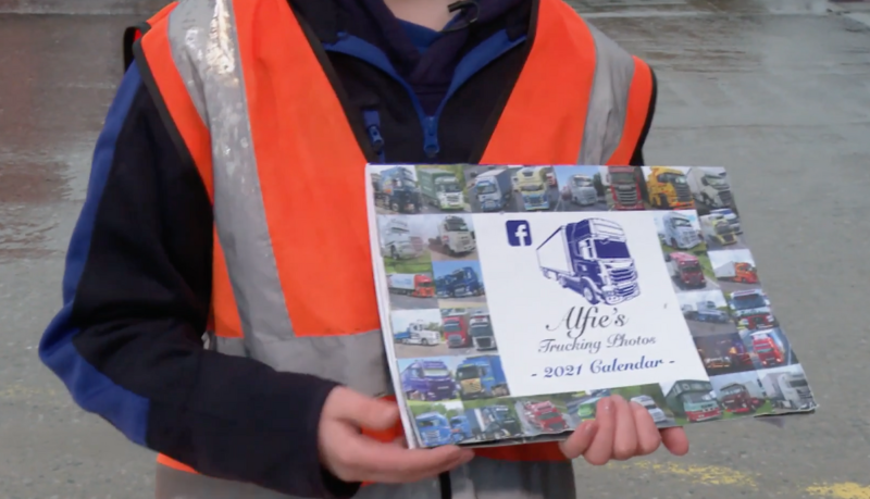 Young truck enthusiast launches charity calendar after bullies targeted his photography page, The Manc