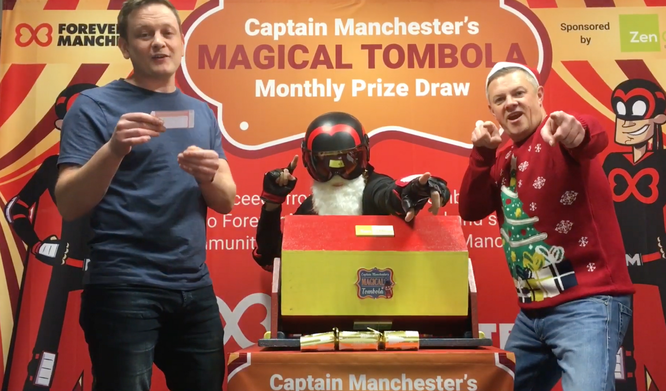 You still have time to enter Forever Manchester's 'Magical Christmas Tombola' to win £2,000, The Manc