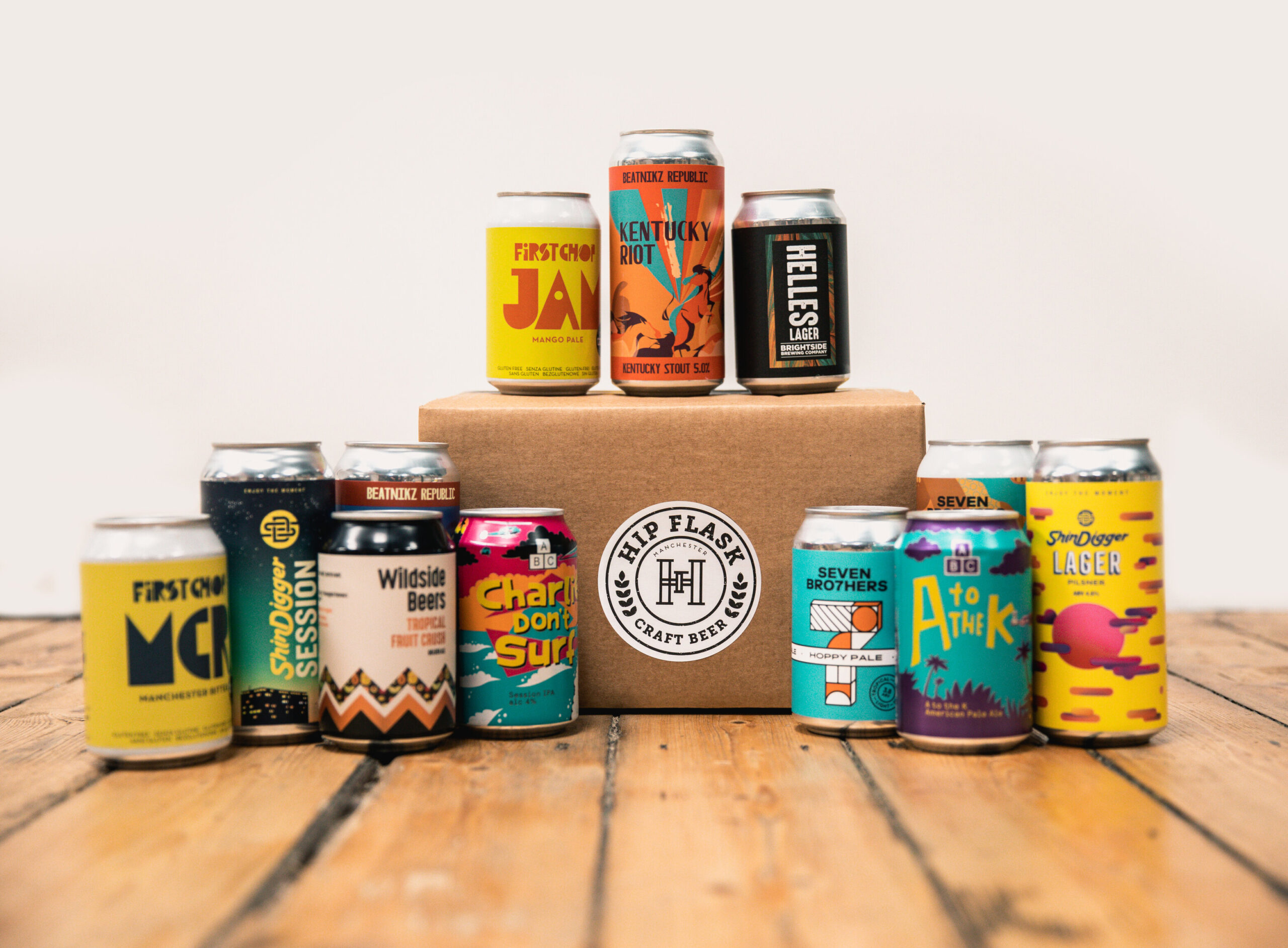 Hip Flask: The craft beer delivery company with a 'Manchester Box' at its heart, The Manc