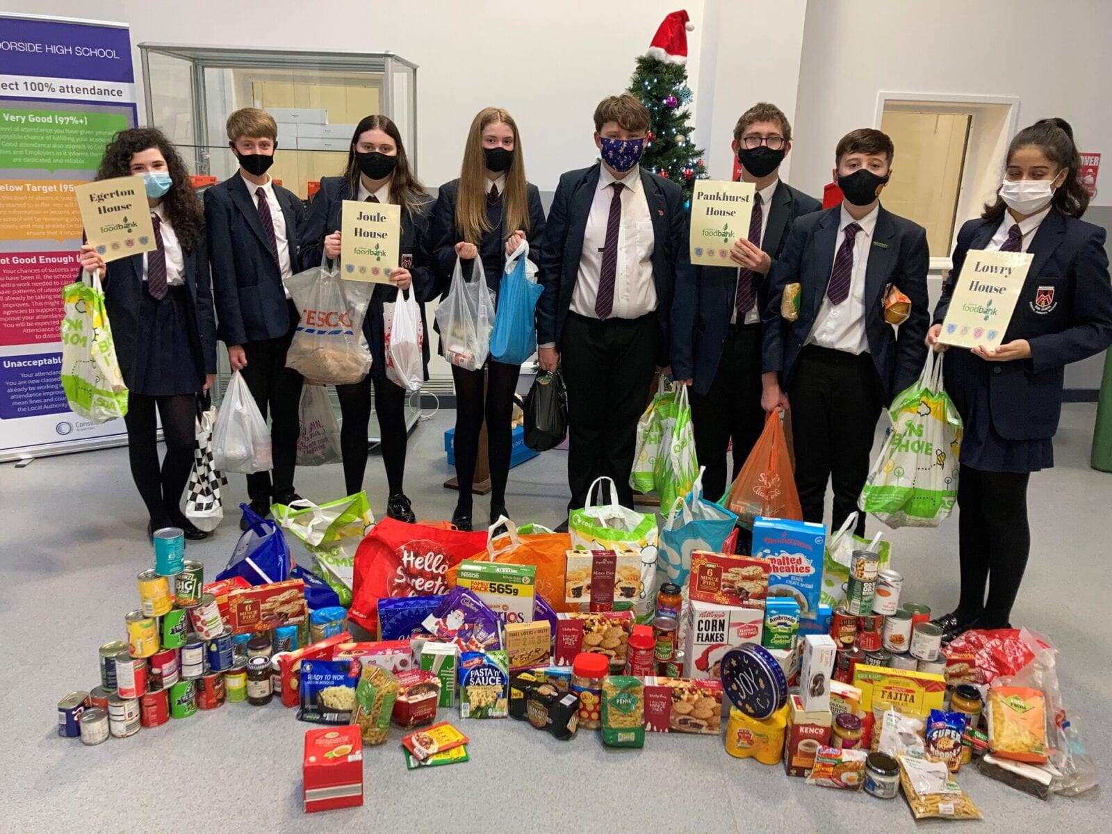 Salford Foodbank is aiming to raise 'three camels' worth of donations this Christmas, The Manc
