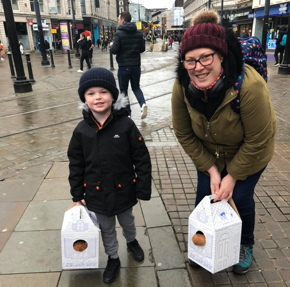 Mum touched by stranger's kind gift to her son on the anniversary of losing her own child, The Manc