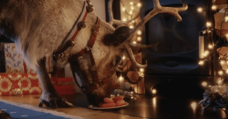 You can now film reindeer visiting your home to show your kids on Christmas morning, The Manc