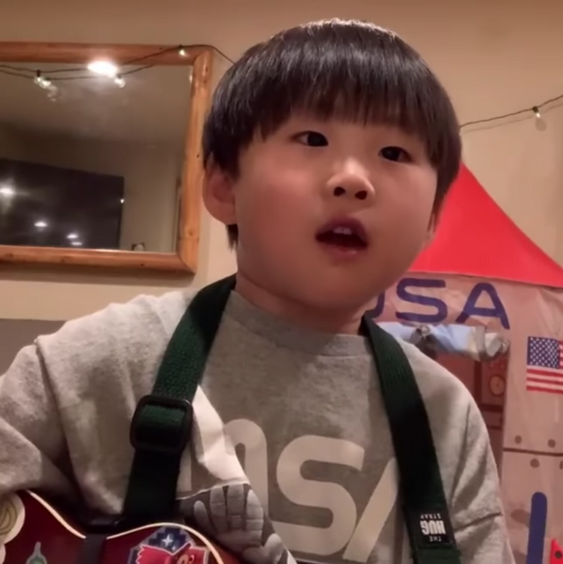 Watch This: Kid sings the most adorable Oasis cover we think we've ever seen, The Manc