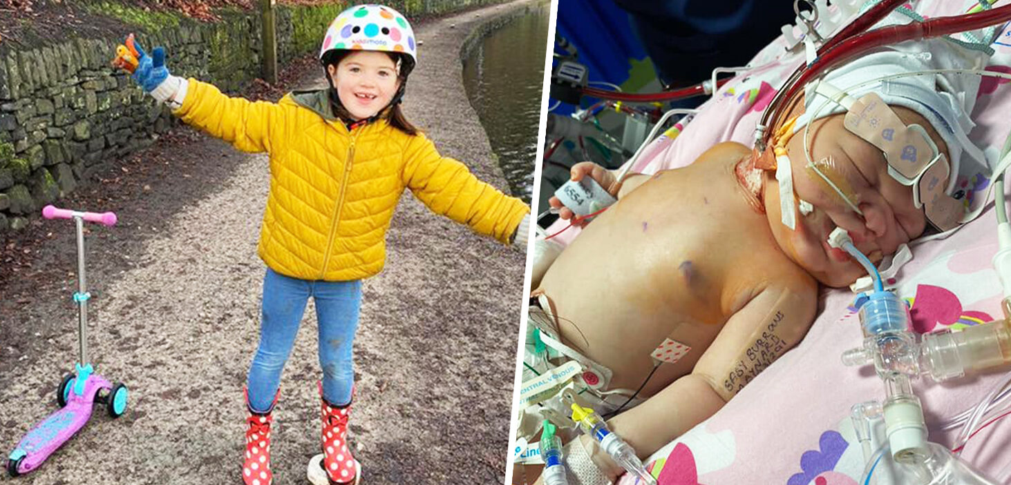 Oldham girl rides scooter for five miles to raise money for the hospital that saved her 'special new friend', The Manc