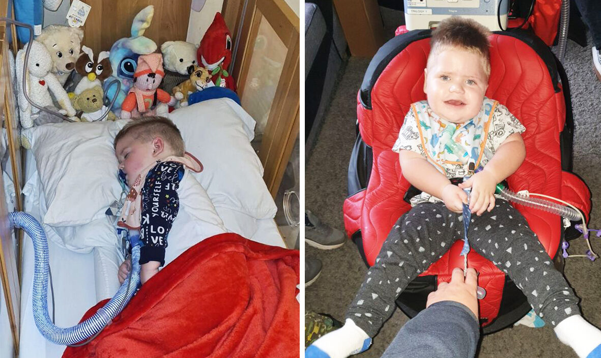 Twins from Leigh who've spent their entire lives in hospital allowed home for Christmas, The Manc