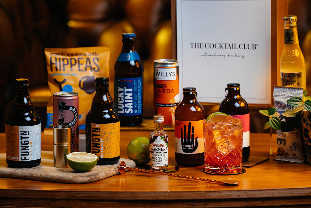 The Cocktail Club is launching a non-alcoholic hamper for dry January, The Manc