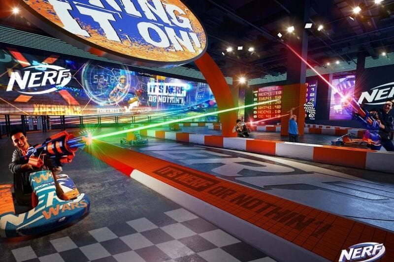 There's a huge 'Nerf battleground' attraction opening in Greater Manchester, The Manc