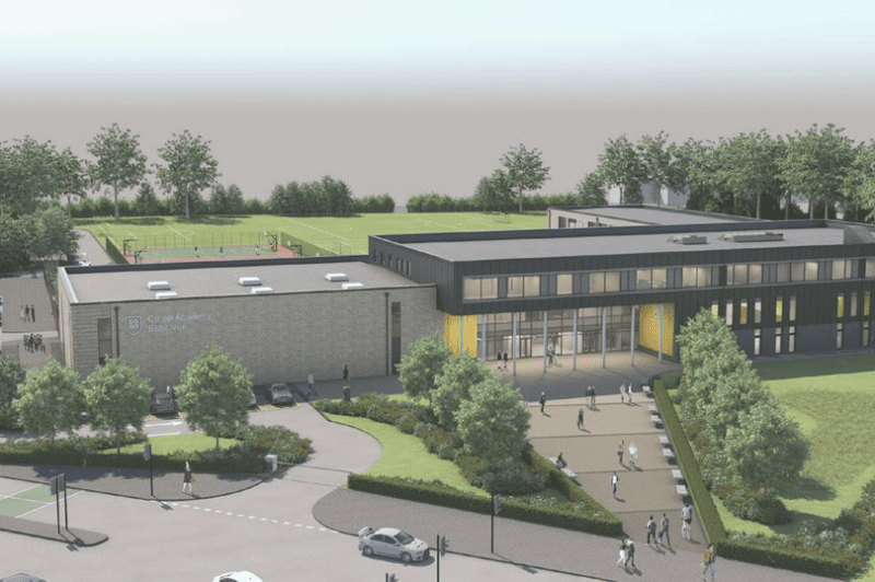 Here's a first look at the new school set to replace Belle Vue's iconic Showcase Cinema, The Manc