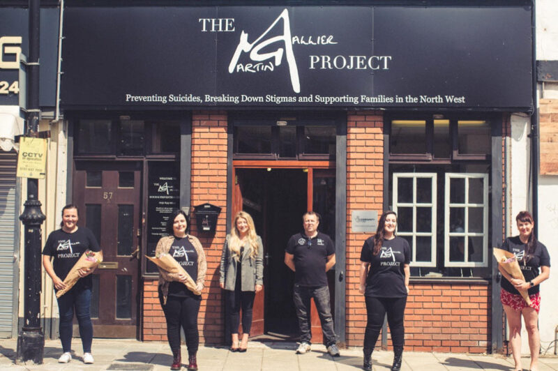 This suicide prevention charity has helped record numbers of people in the North West since the first lockdown, The Manc