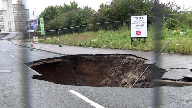 Why are dangerous sinkholes opening up all over Greater Manchester?, The Manc