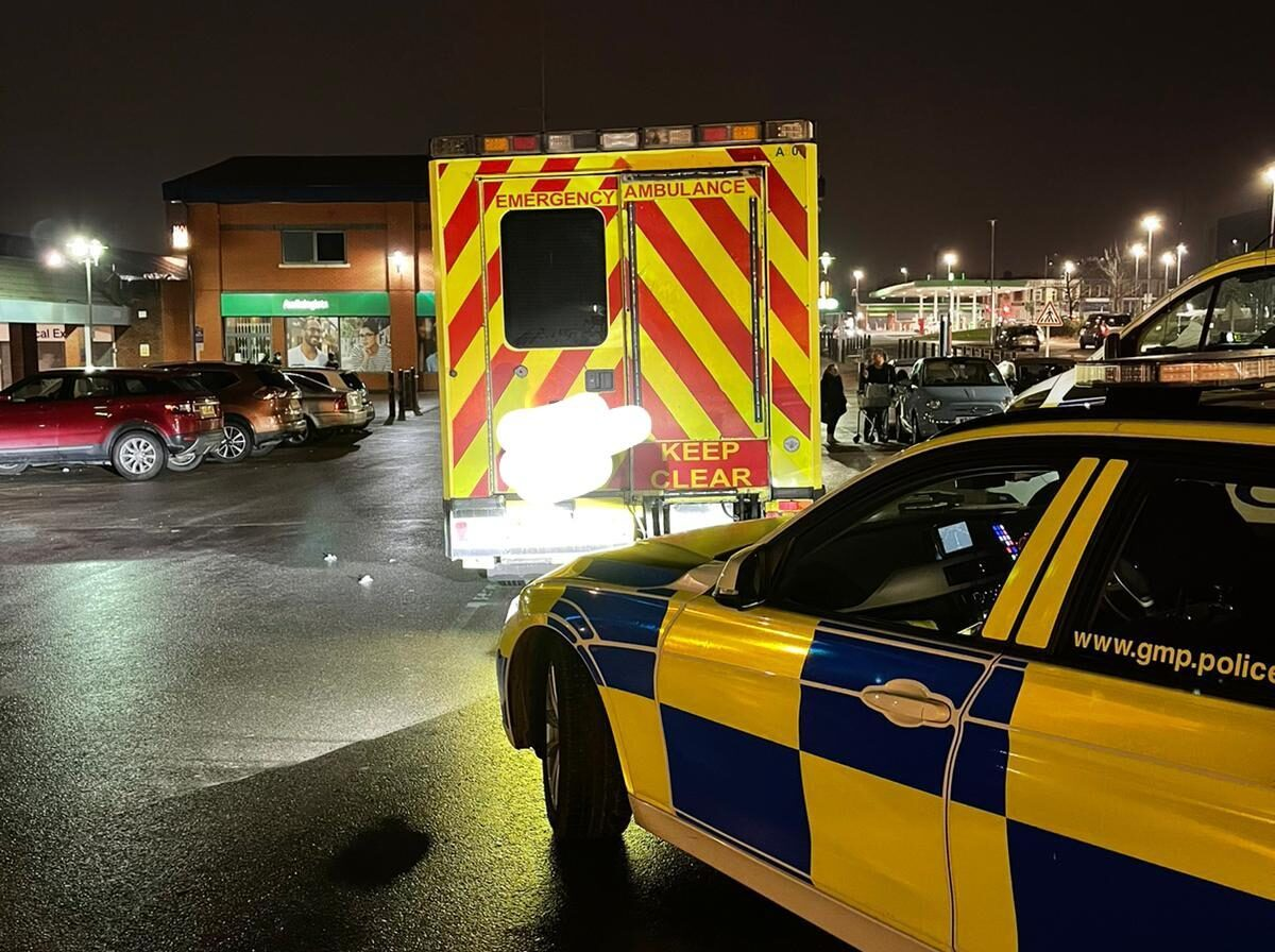 Police catch disqualified driver doing an ASDA shop in an old ambulance, The Manc