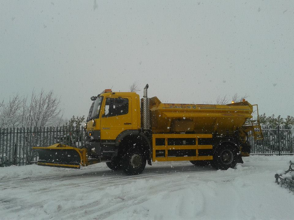 The 64-year-old gritter working all hours to protect the north in winter, The Manc