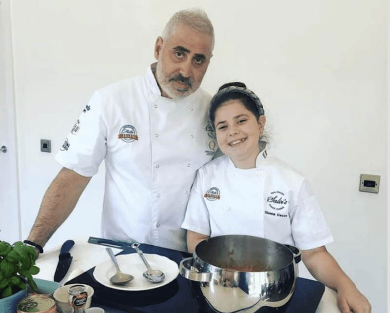 Family-owned restaurant Salvi's will run kids cooking classes in lockdown, The Manc