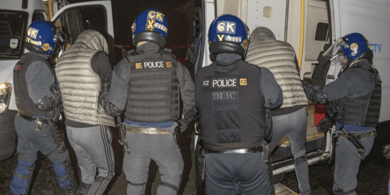 Drugs, phones and vehicles seized in mass dawn raids across Bury and Rochdale, The Manc