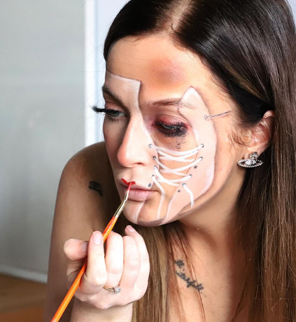 The Manc makeup artist who transforms her face into some of the world's most famous and more, The Manc