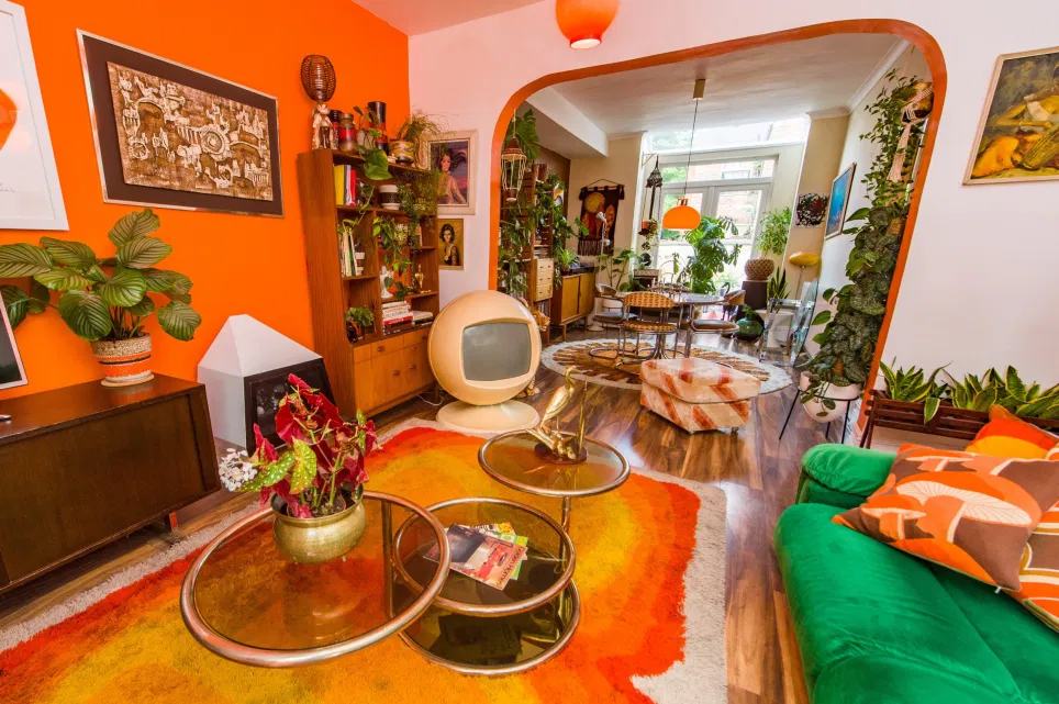 There's a '70s House' in Manchester and the inside is like stepping back in time, The Manc