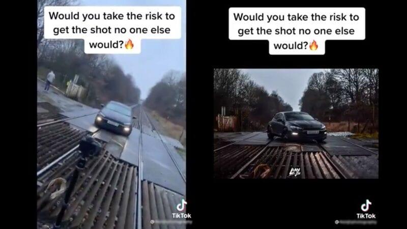 Network Rail slams 'sheer stupidity' of TikTok train tracks stunt, The Manc