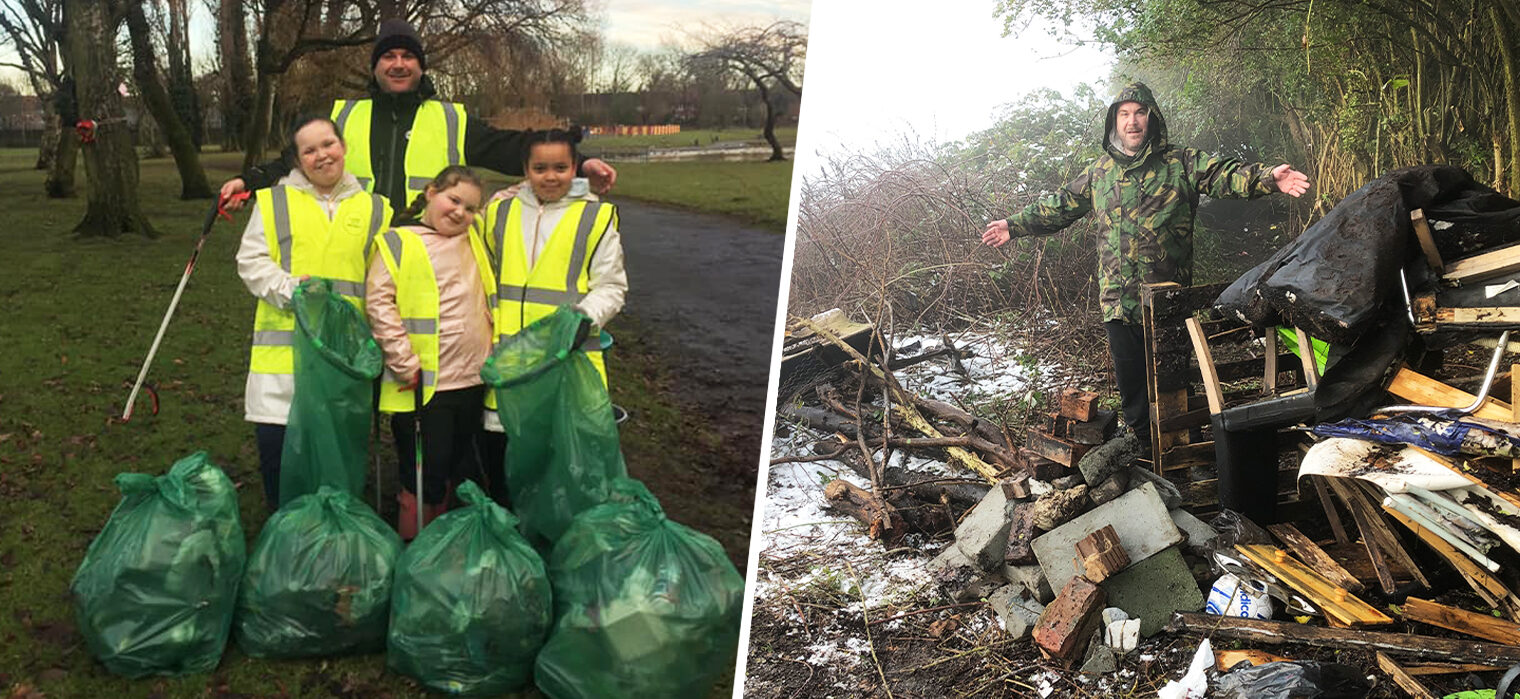 The local family making Wythenshawe proud after becoming 'waste warriors', The Manc