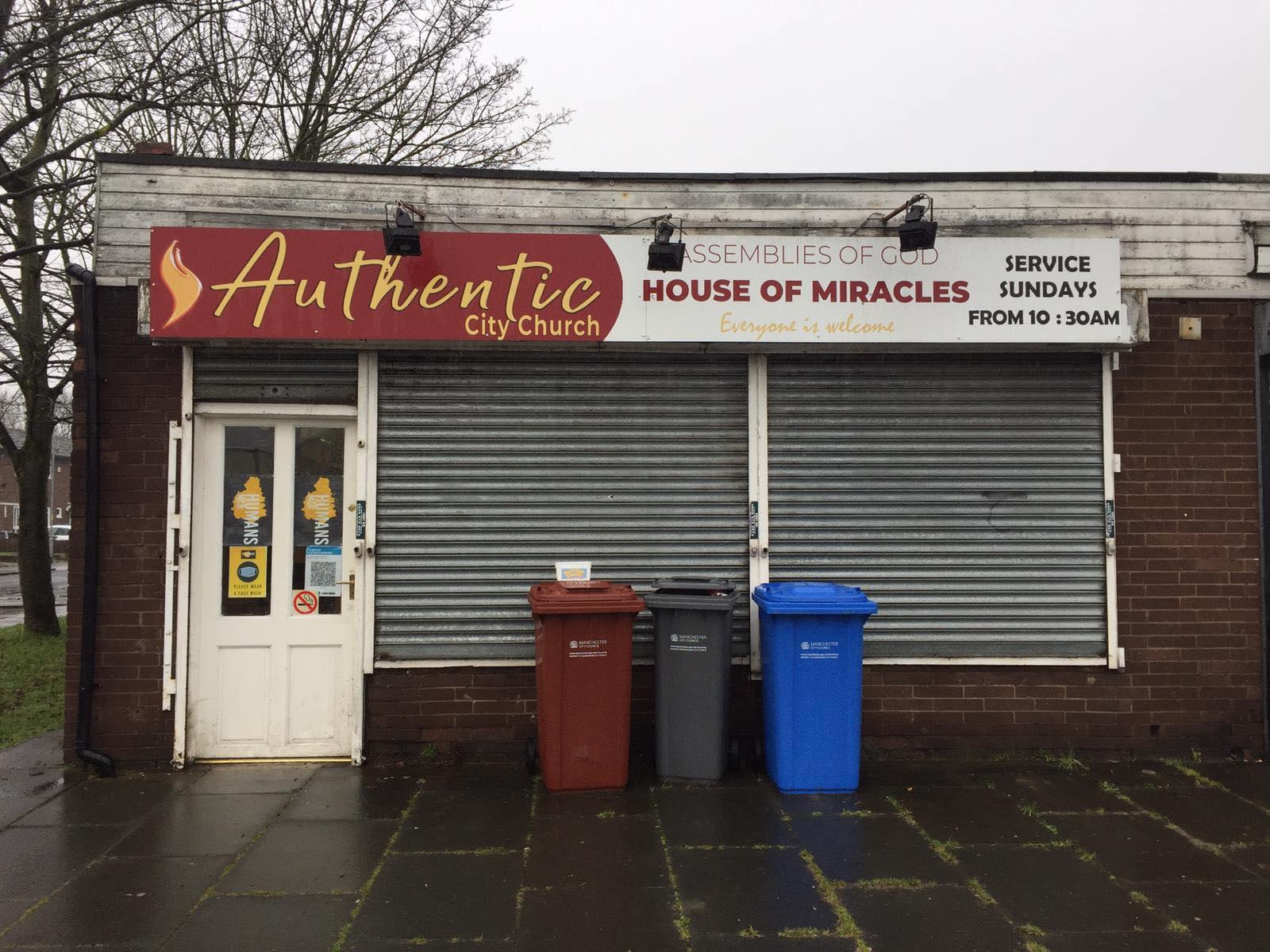Volunteers left stranded outside Manchester foodbank after vandals glue locks shut, The Manc