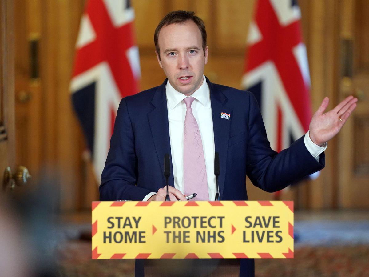 Health Secretary Matt Hancock is now self-isolating and 'not leaving until Sunday', The Manc