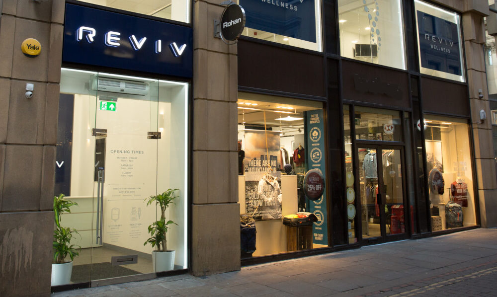 Global Manchester-born wellness company REVIV offers its clinics as vaccination centres, The Manc