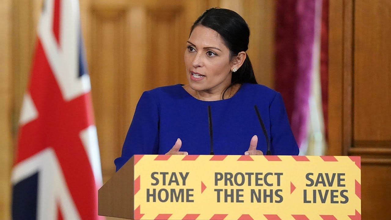 Priti Patel to lead press conference this evening as police crackdown on COVID rule breakers, The Manc
