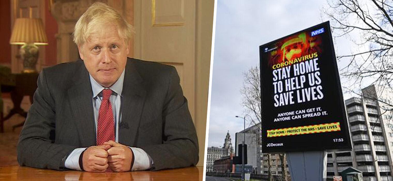 Boris Johnson confirms new lockdown measures for England, The Manc