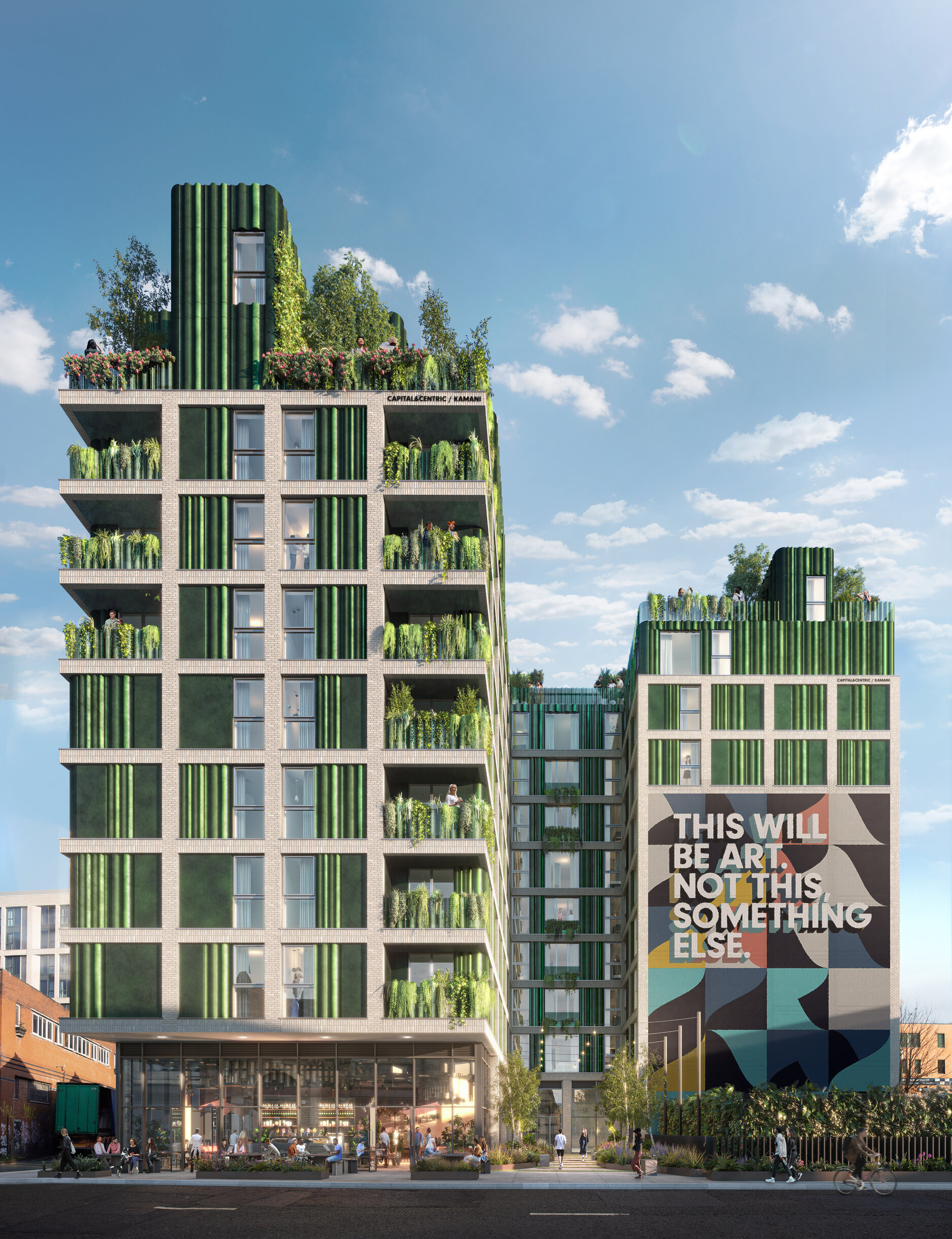 CAPITAL&CENTRIC and Kamani Property Group submit plans for new Swan Street community, The Manc