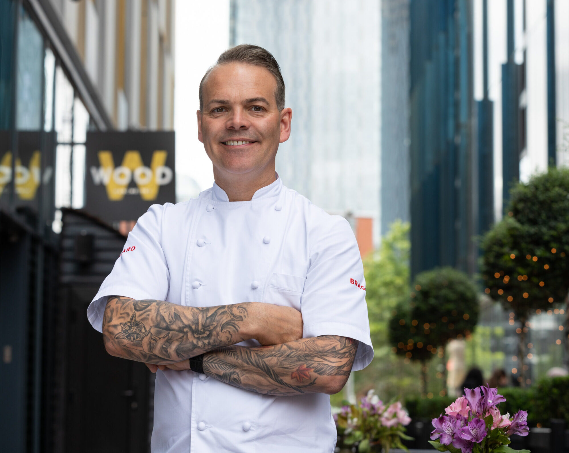Simon Wood is turning his Manchester restaurant into a 'tacos and tequila' terrace next month, The Manc