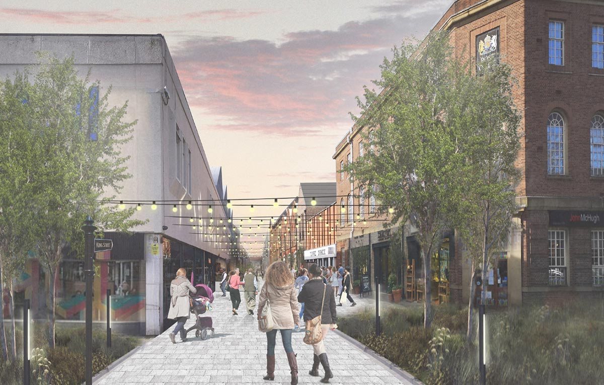 The Stretford Mall and town centre transformation masterplan has been unveiled, The Manc