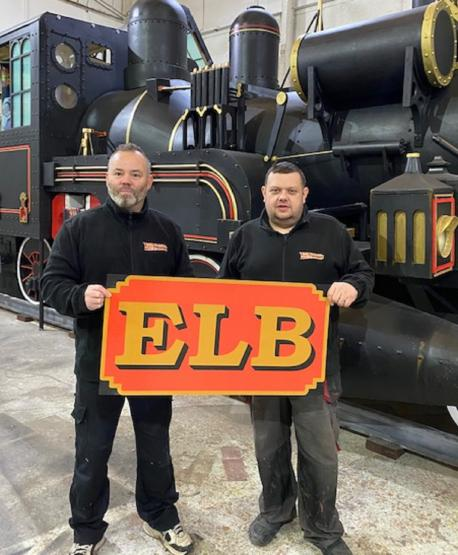 These two Northern pals have built an exact replica of the iconic Back to the Future train, The Manc