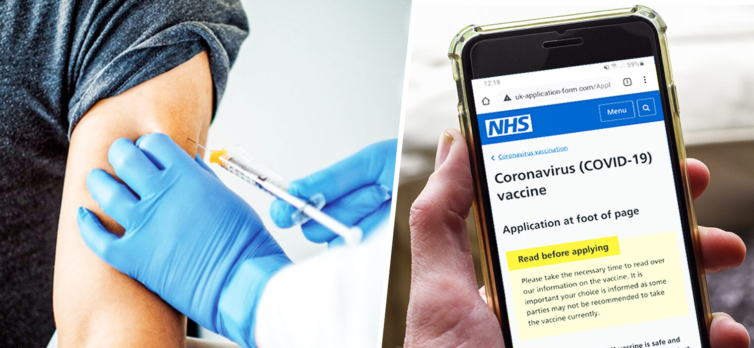 Officials send urgent scam warning over fake NHS vaccine messages, The Manc