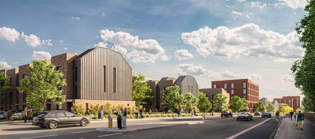 Plans submitted for Collyhurst Village regeneration as part of the city's £4 billion 'Northern Gateway' project, The Manc