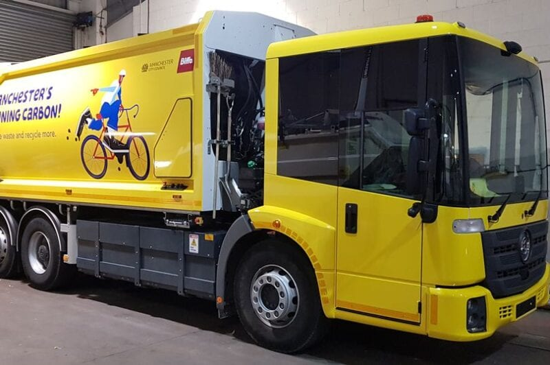 Manchester Council invites public to name new fleet of electric bin lorries, The Manc