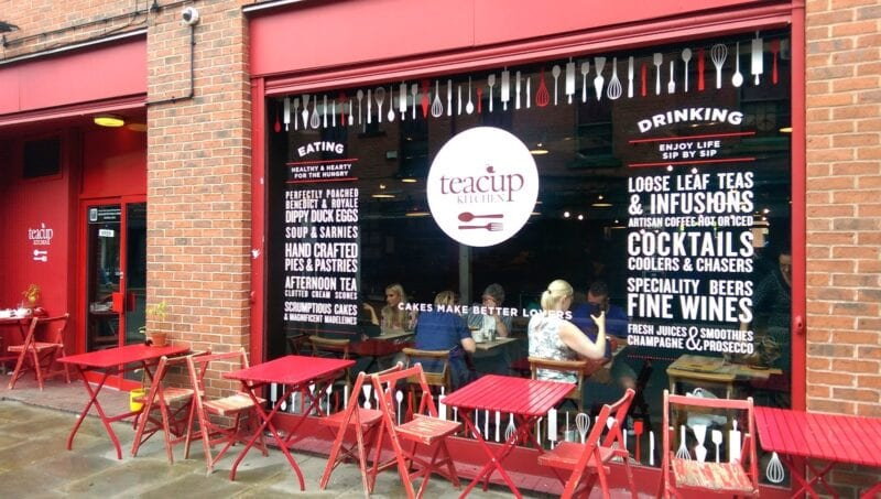 Popular cafe Teacup Kitchen has now vanished from the Northern Quarter, The Manc