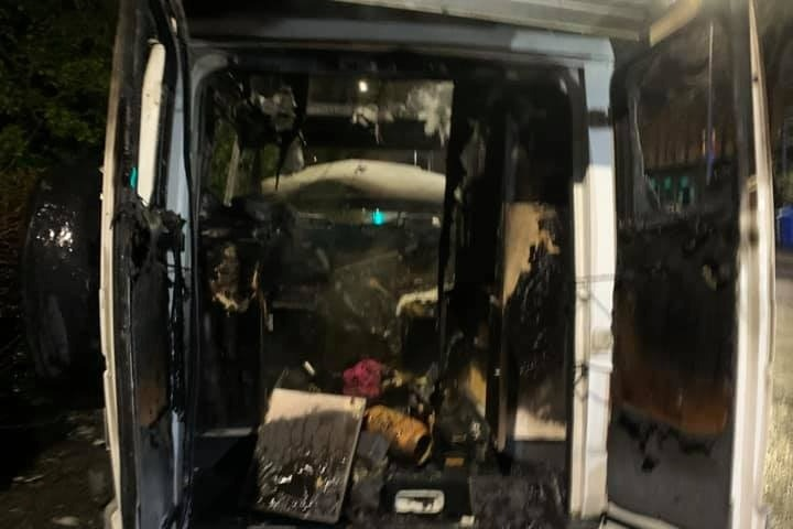 Woman whose van was torched by arsonist overwhelmed by community response, The Manc