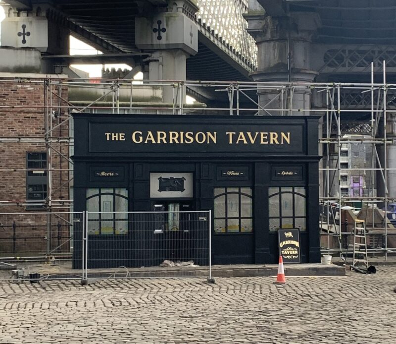 New photos show Castlefield completely transformed for next series of Peaky Blinders, The Manc