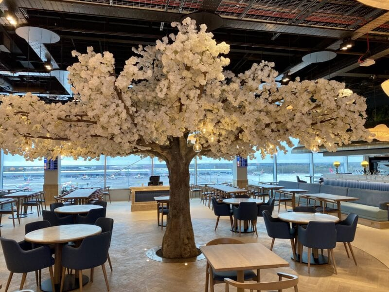 Images of new San Carlo at Manchester Airport Terminal 2 appear online, The Manc