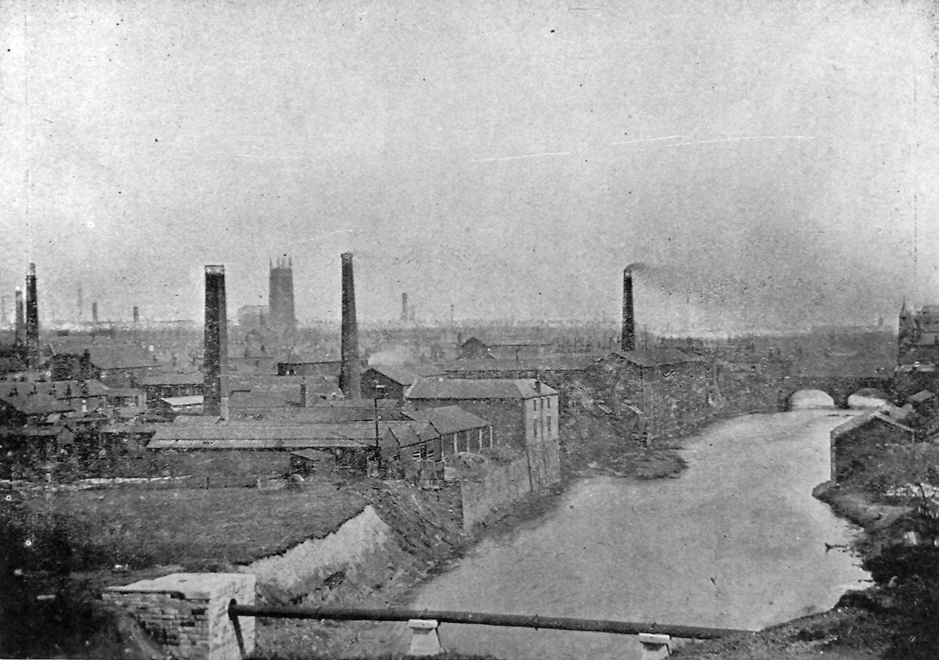 Sailing through Salford: The floods of 1852 that left the north 6ft underwater, The Manc