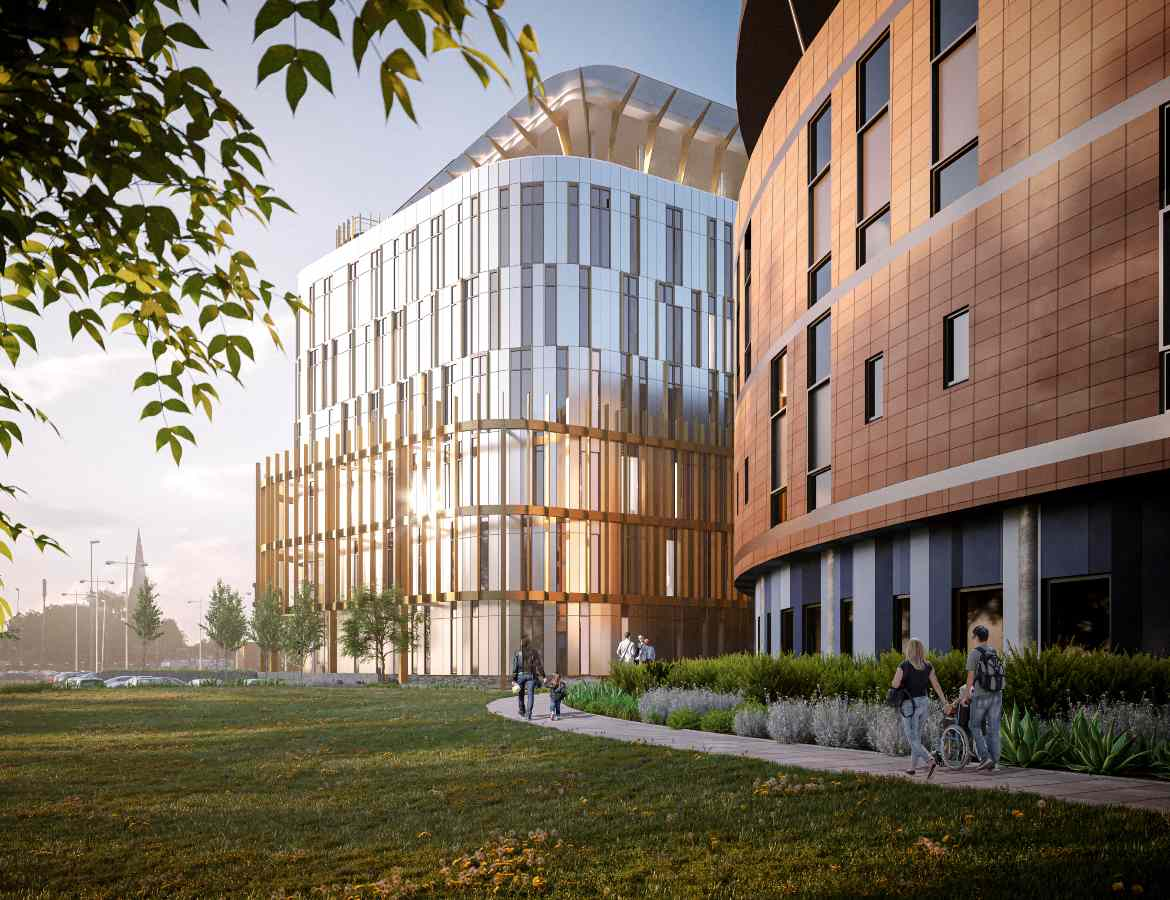 Work begins today on Salford Royal's new 'state of the art' £68 million major trauma centre, The Manc