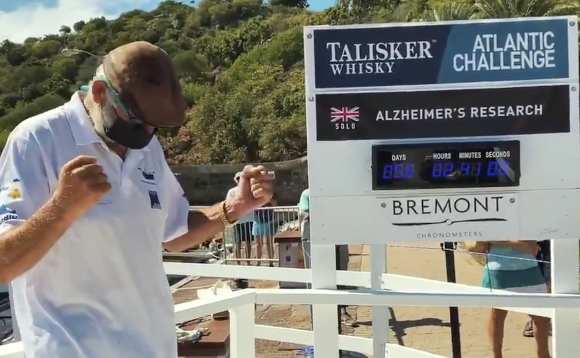 Oldham man's record-breaking Atlantic row raises £1m for Alzheimer's charity, The Manc