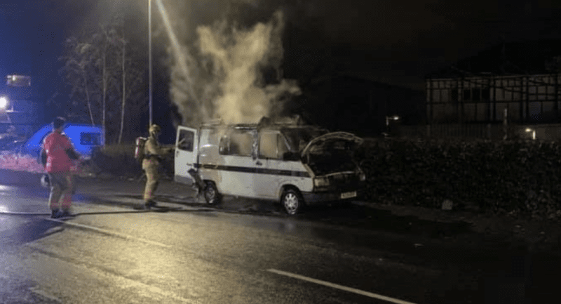 Woman's 'dream camper van' torched overnight in Didsbury on Valentine's Day, The Manc