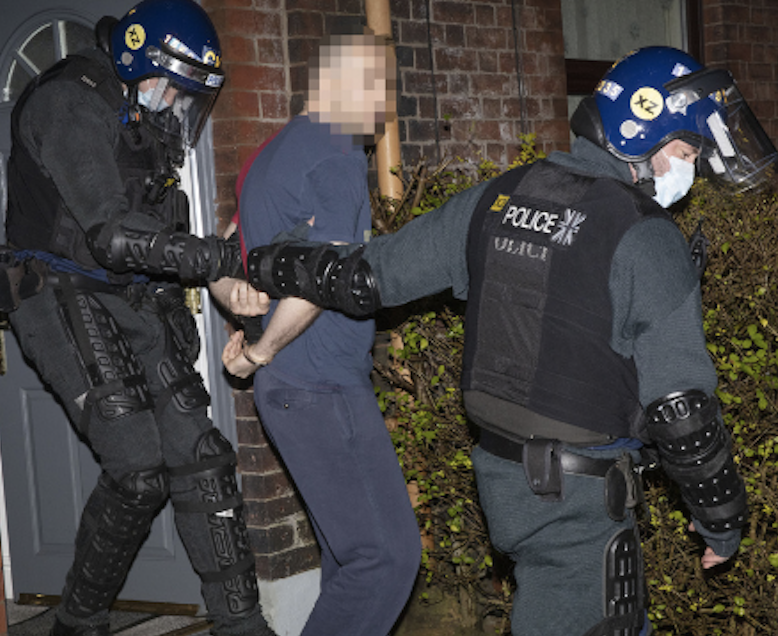 Suspected organised crime group members arrested in dawn raids across Rochdale and Oldham, The Manc