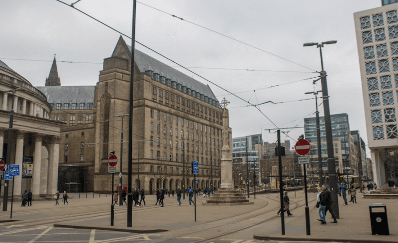 Police investigating after 'shoot out' in St Peter's Square sees three arrested, The Manc