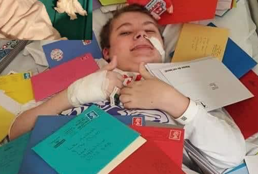 Mum of local lad with terminal muscle condition asks public to send cards for his 16th birthday, The Manc